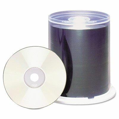 Maxell Corp. Of America Spindle Cd-R Discs, 700Mb/80 Min, 48X, 100/Pack