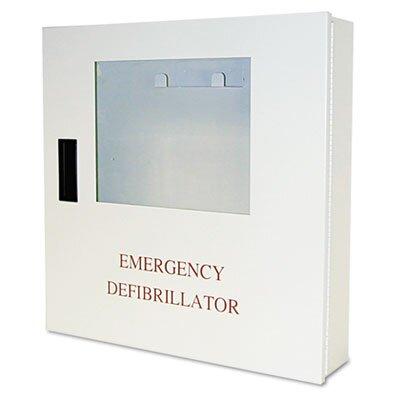 Defibtech Wall-Mount Case, Alarmed, 18 X 18 X 4