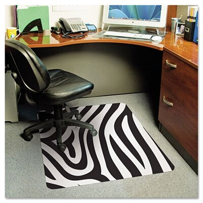 E.S. ROBBINS                                       Zebra Medium Pile Carpet Chair Mat