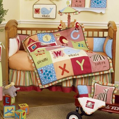 CoCaLo Baby Alphabet Soup Crib Bedding Collection