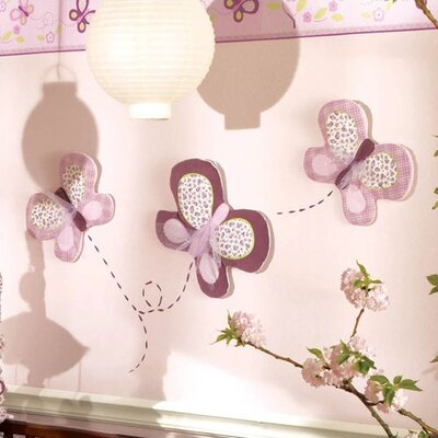 CoCaLo Baby Sugar Plum 3-Piece Wall Hanging