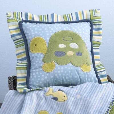 Turtle Reef Decorative Pillow