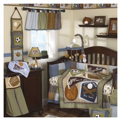 CoCaLo Baby Sports Fan Crib Bedding Collection