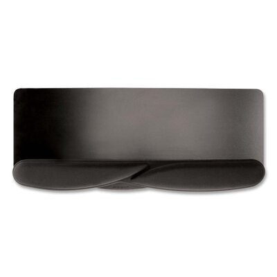 Kensington Wrist Pillow Foam Extended Keyboard Platform Wrist Rest, Black
