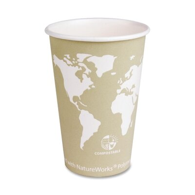 Eco-Products, Inc Renewable Resource Hot Drink Cups, 16 oz., 50/PK