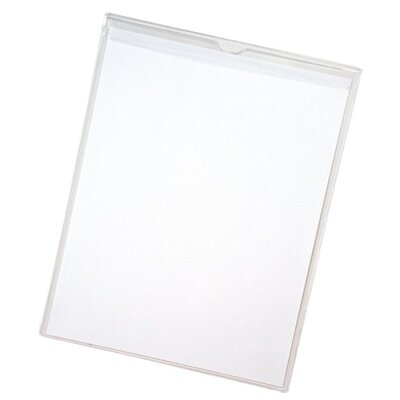 "Anglers Company Ltd. Sturdi-Kleer Vinyl Envelopes w/Flaps, 6""x9"", 10/PK, Clear"