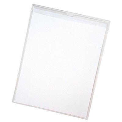 "Anglers Company Ltd. Sturdi-Kleer Vinyl Envelopes w/Flaps, 9""x12"", 10/PK, Clear"