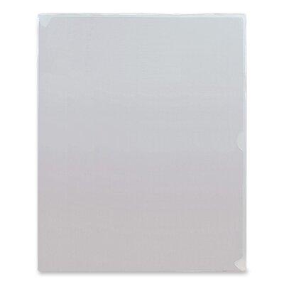 "Anglers Company Ltd. Kleer-Kolor Vinyl File Folders, Letter Size, 11""x8-1/2"", Clear"