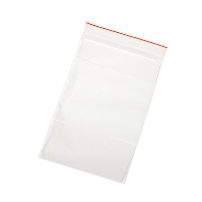 "Anglers Company Ltd. Handi-Loc Poly Bags, 3""x5"", Reclosable, 100/BX, Clear"