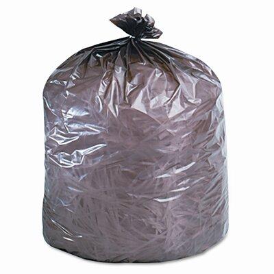 Stout Eco-Degradable Plastic Trash Garbage Bag, 39 Gal, 1.1Mil, 33X44, 40/Box