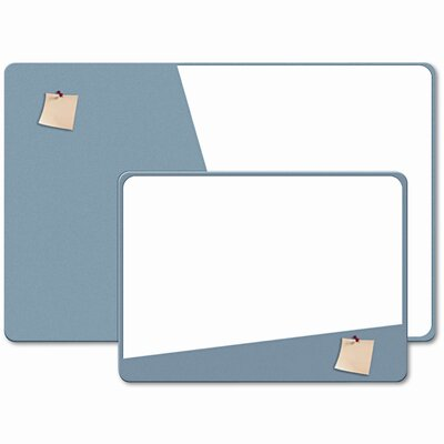 The Board Dudes Combination Magnetic Dry Erase and Foam Board, 24 X 18