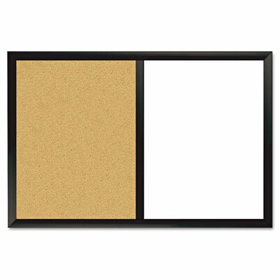 The Board Dudes Combo Magnetic Dry Erase and Bulletin Board, 24 X 36