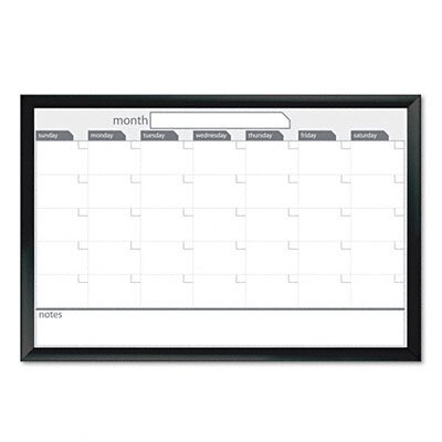 The Board Dudes Magnetic Dry Erase Board, 36 X 24
