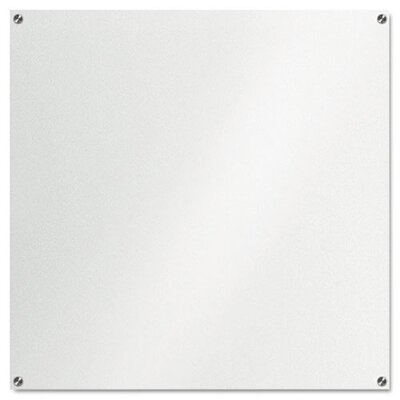 """The Board Dudes 3' 6"""" x 3' 6"""" Glass Board"""