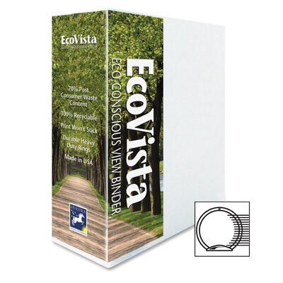 "Aurora Products 3"" Ecovista Binder"