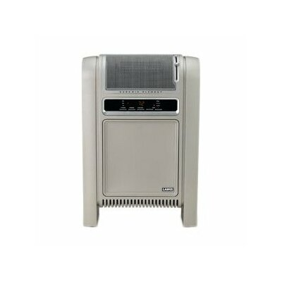 Lasko Cyclonic Ceramic Cabinet Electric Space Heater with Adjustable Thermostat