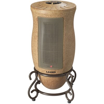 Lasko 1,500 Watt Ceramic Tower Space Heater with Adjustable Thermostat