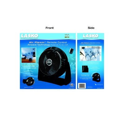Lasko Air Flexor High Velocity Fan with Remote Control