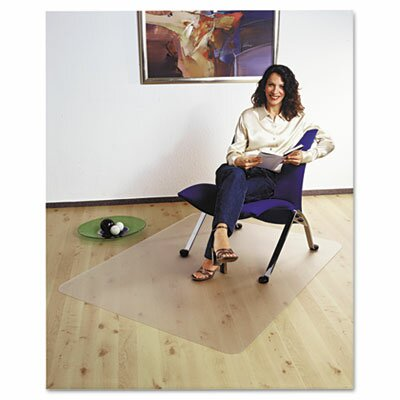 Floortex Cleartex Ultimat Polycarbonate Chair Mat For Hard Floors, 47 X 35