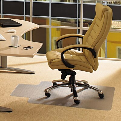 Floortex Ecotex Revolutionmat Low Pile Carpet Lipped Edge Chair Mat