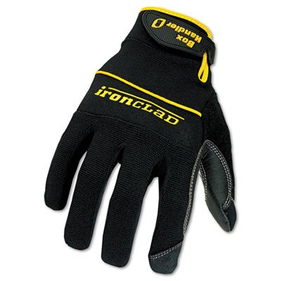 IRONCLAD PERFORMANCE WEAR Box Handler Gloves, 1 Pair, Large
