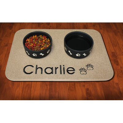 Inxsy Customizable Pet Placemat