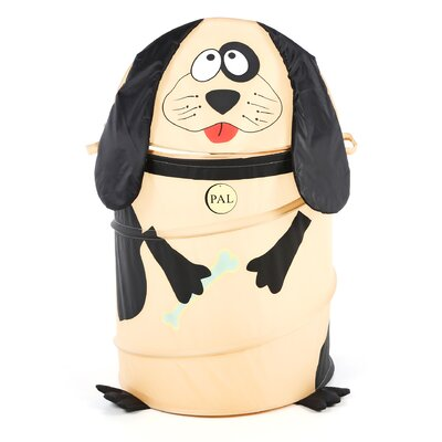<strong>Redmon for Kids</strong> The Original Bongo Bag Dog Pop Up Hamper