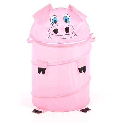 <strong>Redmon for Kids</strong> The Original Bongo Bag Pig Pop Up Hamper