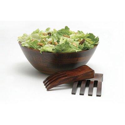 Lipper International Cherry Wavy Salad Bowl