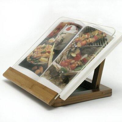 Lipper International Bamboo / Acrylic Cook Book Holder