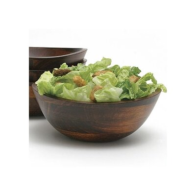 Lipper International Cherry Wavy Rim Bowl