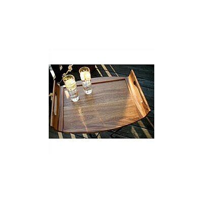 Lipper International Acacia Serveware Reversible Serving Tray