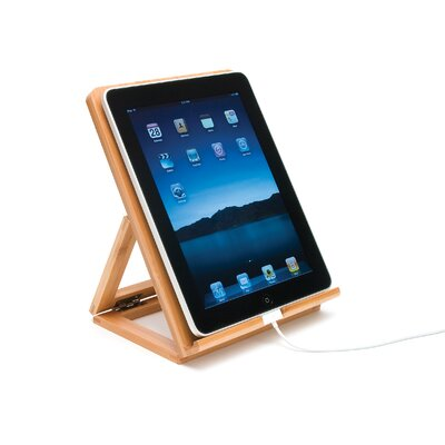 Lipper International Bamboo iPad Stand