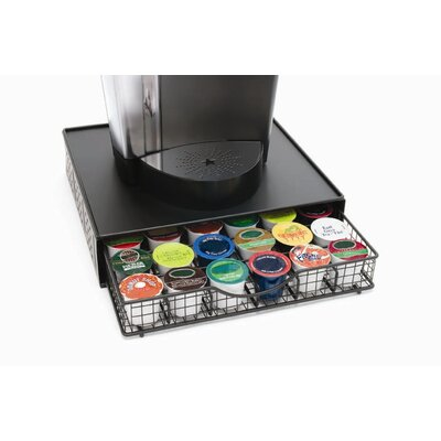 Lipper International Black Wire Coffee Maker Shelf