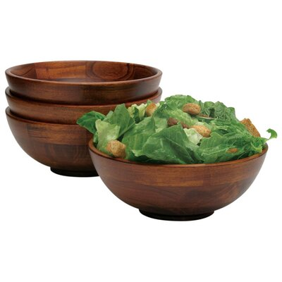 <strong>Lipper International</strong> Cherry Salad Bowl (Set of 4)