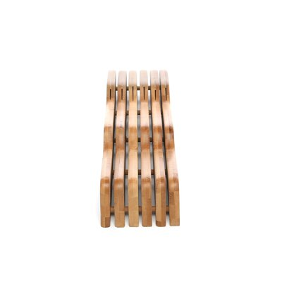 Lipper International Bamboo Knife Block