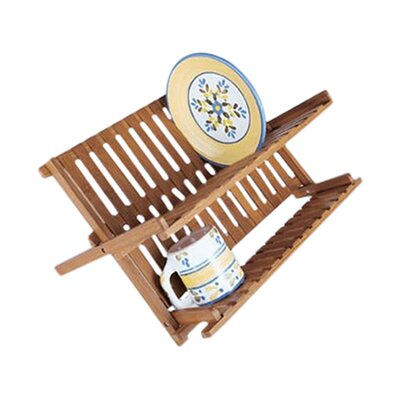 Lipper International Bamboo Dish Rack