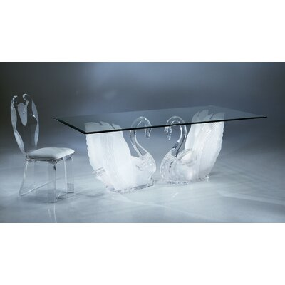 Shahrooz Legend Swan 5 Piece Dining Set