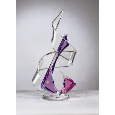 Sculptures and Art Pieces Acrylic Tornado Sculpture