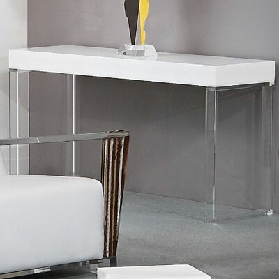 Contempo Acrylic Console Table