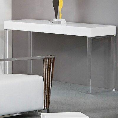 Shahrooz Contempo Acrylic Console Table