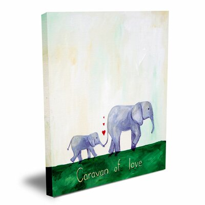 CiCi Art Factory Words of Wisdom Caravan of Love Canvas Art