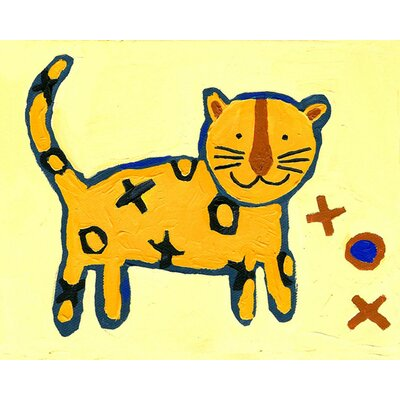 CiCi Art Factory Paper Prints X & O Tiger Canvas Print