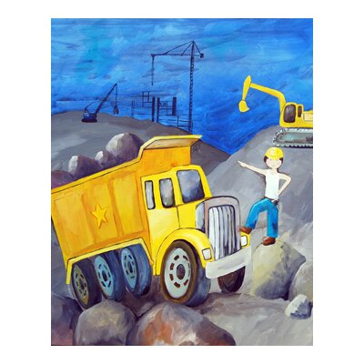 CiCi Art Factory Construction Zone Paper Print