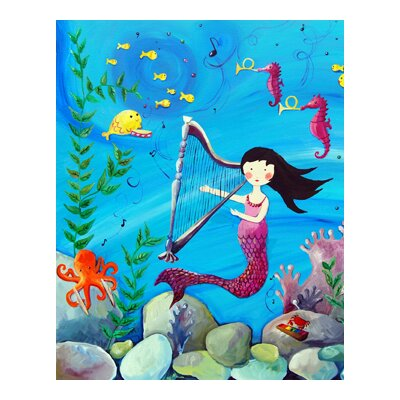 CiCi Art Factory Wit and Whimsy Mermaid Canvas Print