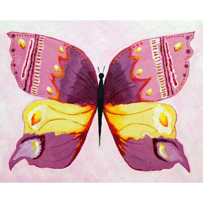 CiCi Art Factory Patchwork Admiral Butterfly Giclee Canvas Art