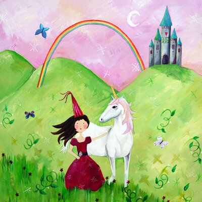 CiCi Art Factory Wit and Whimsy Princess Canvas Print