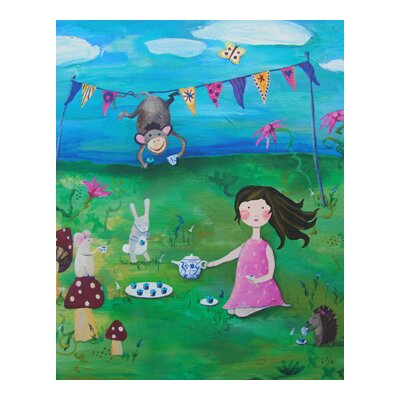CiCi Art Factory Wit and Whimsy Tea Party 2 Canvas Print