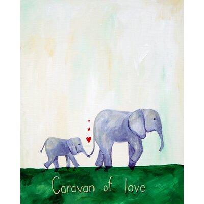 Words of Wisdom Caravan of Love Paper Print