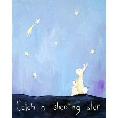 Words of Wisdom Catch a Shooting Star Paper Print
